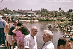 Rivers of America, Disneyland, 1961 (Orange County Archives) Tags: california history disneyland disney historical 1960s southerncalifornia orangecounty anaheim frontierland orangecountyarchives orangecountyhistory
