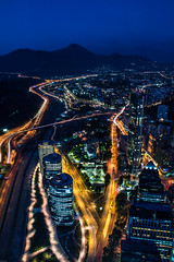 Sky Costanera (Seba_Fsk) Tags: chile city santiago luz nigth estructura skycostanera