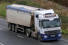 HX63UKD - M&N Transport (TT TRUCK PHOTOS) Tags: mike mercedes tipper mp3 mn burton bourton a303