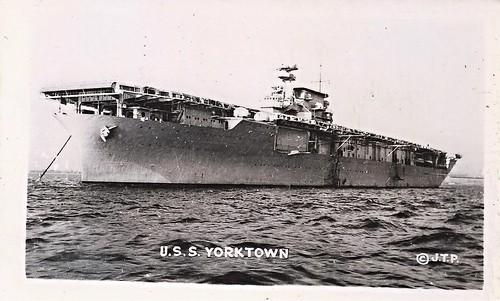 USS Yorktown (CV-5), Aircraft Carrier