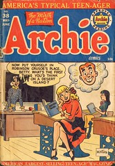 Archie Comics 38 cover (zigwaffle) Tags: betty comicbook archie 1949 riverdale