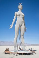 DSC_0669 (Axisworks) Tags: sculpture woman statue metal nevada burningman blackrockcity revolution blackrockdesert 2015 marcocochrane