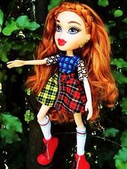 Study Abroad - Scotland (Maddi Edition) (koolkatdoll) Tags: scotland braids redhair tartan bratz dollphotography bratzdolls passionforfashion dollcollecting bratzmakeover bratzstudyabroad