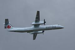 Air Canada Express Bombardier Dash 8 Q400 (gdd814) Tags: calgary airport nikon regional spotting airliner turboprop yyc dash8 bombardier aircanada staralliance q400 55200mm cyyc dh8d d3300 aircanadaexpress jazzaviation