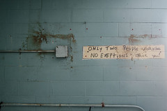 No Exceptions (forgottenbeautyphotography) Tags: history abandoned connecticut urbandecay ct prison urbanexploration jail correctionalfacility institutionalization
