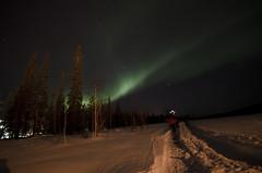 Finlandia serata di magie (maurobrock) Tags: lapland finlandia ghiaccio lapponia luosto circolopolareartico auroraboreale maurobrock