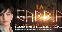 LaraComi (#ForzaItalia) in Tv a #LaGabbia... (liglor1) Tags: forzaitalia la7 lagabbia laracomi uploaded:by=flickstagram instagram:photo=11615837400698998742098138866
