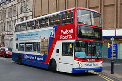 TWM Dennis Trident 4126 Y717TOH - Walsall (dwb transport photos) Tags: bus alexander dennis nationalexpress trident decker travelwestmidlands alx400