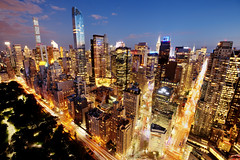 Midtown Rises (Tony Shi Photos) Tags: nyc newyorkcity ny newyork buildings centralpark manhattan midtown columbuscircle 59thstreet midtownmanhattan trumpinternationalhotelandtower one57 432parkave billionairerow