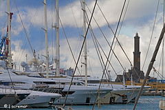 Genova (ACREMAR) Tags: italy panorama lighthouse port faro italia genoa genova porto phare lanterna fyr leuchtturm citt luoghi viti denizfeneri acremar