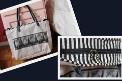 Bolsa Paris (ceciliamezzomo) Tags: black paris tower make up bag torre handmade linen lace eiffel preto preta zipper patchwork bolsa tote renda ziper necessaire linho