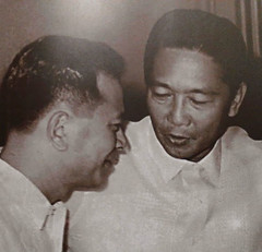 President Marcos meets Senator Doy Laurel (Presidential Museum and Library) Tags: martiallaw