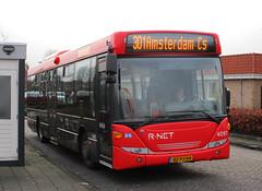 EBS R.Net bus 4097 busstation Graft-DeRijp (Arthur-A) Tags: bus netherlands buses nederland autobus scania ebs egged bussen derijp rnet