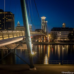 Frankfurt a.M., Germany (Springer@WW) Tags: city bridge river frankfurt sony main stadt fluss langzeitbelichtung alpha7 longeexposure