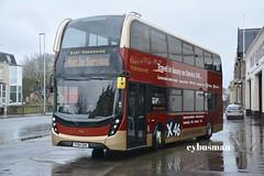 East Yorkshire 795, YY64GWX. (EYBusman) Tags: road york bus ex coach yorkshire east 400 depot motor alexander hull dennis mmc services enviro demonstrator anlaby x46 eyms eybusman yy64gwx
