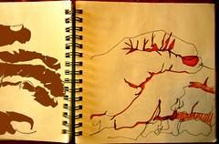 grabbing little monsters... (LetsLetsLets) Tags: sketch janeiro faces exercise drawing lisboa monsters caras 2008 desenho monstros colorido singleline exercício esquisso letsletslets deolhosfechados traçocontínuo linhaúnica