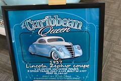 1937 Lincoln Zephyr detail (bballchico) Tags: zephyr lincoln custom 1937 grandnationalroadstershow caribbeanqueen donlong gnrs2016
