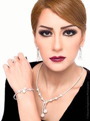 Leean Beauty & Jewelry Photoshoot (FarCorner) Tags: portrait home beauty studio model photoshoot flash makeup jewelry headshot saudi arabia session jeddah collaboration strobe stylist hairstylist