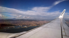 Barcelona from air (vic_206) Tags: barcelona wing aerial fromabove ryanair fromair windowseat nokialumia1020