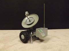 Mobile Comms Post (Ug the Pug) Tags: lego space rover fi exploration tow sci