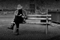 (omarpappi) Tags: street people urban blackandwhite bw blancoynegro monochrome photography mono monocromo photo blackwhite nikon strada noiretblanc streetphotography uomo firenze lettura biancoenero nwn urbanphotography monocrome panchina capello florance urbanscene urbanblackandwhite 123bw streetbw nikond300 nikonflickraward
