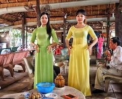 Ho Chi Minh through my lens (-Faisal Aljunied - !!) Tags: traditional culture vietnam singers saigon hcmc hochiminh mekongriver aodai vietnamesegirls faisalaljunied