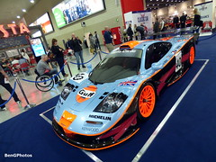 Longtail (BenGPhotos) Tags: show blue orange london classic sports car race gulf performance fast automotive f1 racing collection event exotic mclaren 1997 british rare longtail gtr v12 motoring 2016 gt1 22r rofgo