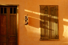 A lazy afternoon (Toms Kim) Tags: old travel summer brazil orange holiday hot window brasil composition ventana lights warm afternoon shadows saopaulo sony rustic frame verano vero rays moment ilhabela 24240 a7m2