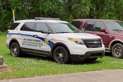 St Mary Parish Sheriff_P1080578 (pluto665) Tags: car explorer funeral squad suv department cruiser dept piu copcar lodd smpso smpsd