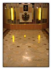 The old coat of arms of the kingdom of Romania and king Ferdinand (cod_gabriel) Tags: mosaic ferdinand romania parlament bucharest bucuresti mozaic bukarest roumanie boekarest bucarest casapoporului romnia bucureti thehouseofparliament bucareste ferdinandntregitorul