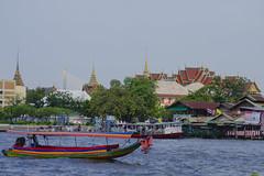 viewof GrandPalacefromWatArun-BANGKOK,THAILAND (P a t t y N u  e z) Tags: chaophrayariver viewofthegrandpalaceinbangkokthailandfromwatarun