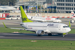 Air Baltic / B733 / YL-BBL / EBBR 07R (_Wouter Cooremans) Tags: airplane aviation air spot baltic spotting bru zaventem ebbr brusselsairport spotter airplanespotting airbaltic b733 ylbbl 07r ageek