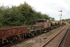20150923 040 GCR Quorn. BR 20T GRAMPUS Ballast Open ZBO DB984642 (15038) Tags: wagon br trains goods railways freight britishrail quorn grampus greatcentralrailway gcr zbo ballastopen greatcentralrailwayrailways 984642