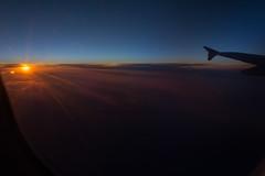 up in the sky_2015_schtArt (schtART) Tags: world night sunrise evening abend fly nikon sonnenuntergang im nacht himmel flugzeug untergrund erde flug vonoben inthesky d7100