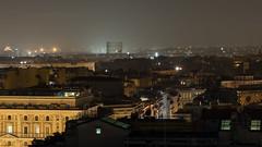 Notte su Roma (albi_tai) Tags: panorama roma landscape nikon d750 notte notturno gasometro 2016 lungaesposizione lte tempilunghi albitai nikond750 albimont