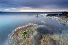Amaneciendo (Jose HL) Tags: longexposure sea espaa seascape valencia marina sunrise landscape mar cabo mediterraneo paisaje led alicante amanecer largaexposicin josehernandez cabocervera largaexposicindiurna