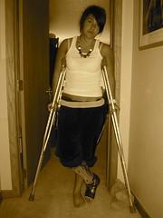 1002439673_gabi (cb_777a) Tags: usa broken foot toes leg cast crutches ankle