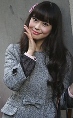 You Know That I Love You (emotiroi auranaut) Tags: woman cute love beautiful beauty face lady female hair asian happy nice asia song feminine gorgeous coat happiness charm stunning lovely charming femininity