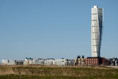 Vstra Hamnen Malm (Hkan Dahlstrm) Tags: santiago house architecture photography se skne sweden calatrava cropped torso malm f71 turning ribersborg 2016 vstra hamnen skneln xe2 sek xc50230mmf4567ois 1111042016164844