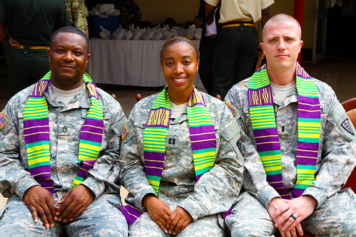 U.S. Army medical Soldiers return to their roots in Ghana