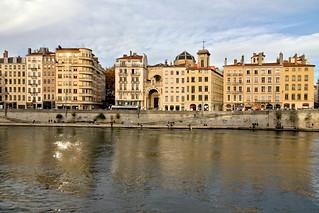 Reflets dans la Saône