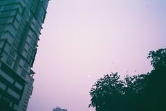 C048662-R1-22-22A (WahidaSamsuddin) Tags: sunset sky 35mm lomography violet olympus fujifilm kualalumpur analogue mjuii f28 pointshoot firstroll stylusepic superia200 mjuii
