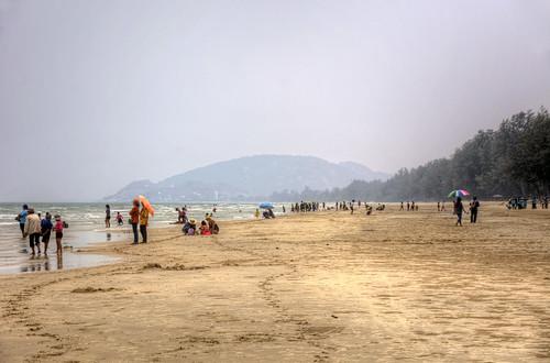Beach south of Kaotikiap