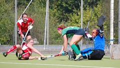 By any means. Kelly and Sinead combining to clear multiple Harlequins attempts on goal (Greenfields Hockey Club) Tags: hockey cork connacht quins harlequins greenfields dangan ihl irishhockeyleague greenfieldshockeyclub irishhockey connachthockey hockeygalway corkharlequins