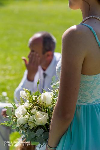 A Dad's Tear Wiped Away