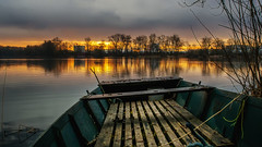 The early bird... (.: mike | MKvip Beauty :.) Tags: orange lake reflection nature water yellow backlight sunrise germany prime boat europe hyperfocal availablelight sony sigma naturallight mc 24mm alpha cy backlighting mth 28 vintagelens primelens manuallens manualexposure sonyalpha contaxyashica wrthamrhein superwideii manualfocusing vintageprime emount mkvip manualondigital sonyalpha6000 ilce6000 sonyilce6000 sony6000 6000 sigma24mm28superwideii sigma24mm28superwideiimc