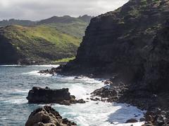 rugged cliffs (dolanh) Tags: ocean hawaii maui cliffs nakaleleblowhole kahekilihighway