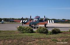 160330_02_C45 (AgentADQ) Tags: plane airplane airport force florida aviation air international leesburg 18 beechcraft beech commemorative c45 bucketofbolts expeditor