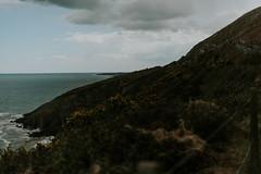 Enjoying the view... (ArkadiuszKubiak) Tags: ireland sea mountains water photography view greystones passion bray irishsea lookslikefilm