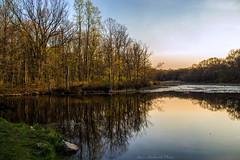 Muriel Hepner Park Sunset_0484 (smack53) Tags: park trees sunset lake water reflections landscape evening newjersey spring pond nikon scenery scenic springtime denville d3100 nikond3100 smack53
